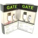 IPHONE LIGHTNING töltő és adatkábel GATE CONNECTION